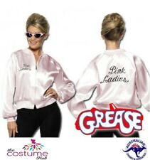 LICENSED Adult Pink Ladies Jacket Grease 50s Rydell High Beauty school