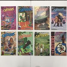 CRITTERS 8 Comic Lot #5, 6, 9, 17, 18, 19, 20, 22 FANTAGRAPHICS Books