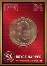 Bryce Harper 2018 Baseball Treasure MLB Coins Copper  Nationals FD3202