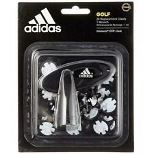 adidas ThinTech Golf Spikes Including Wrench (Pins - 20 Pack) Black
