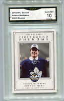 2016 Auston Matthews  First Round Phenoms Draft Rookie Gem Mint 10