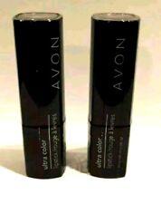 LOT of 2 AVON True Color Lipstick ~ CHERRY JUBILEE ~ Moist Shea Butter Red Wine