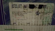 100ft Belden 82723 22/2P Teflon Indiividual Shield Twist Pr Audio/Control Cable