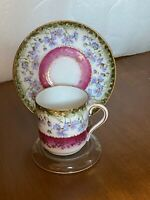 Vintage Beautiful Imperial China Austria Expresso Cup and Saucer Demitasse
