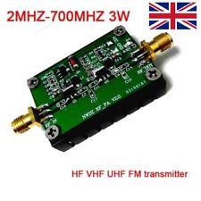 2MHZ-700MHZ 3W HF VHF UHF FM transmitter RF Power Amplifier For Ham Radio