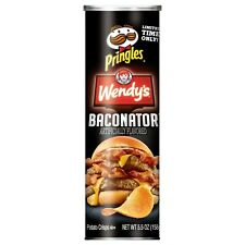 PRINGLES WENDY'S BACONATOR POTATO CHIPS