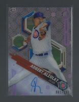 ADBERT ALZOLAY  2018 Bowman High Tek  PROSPECT AUTOGRAPH  081/150  Chicago Cubs