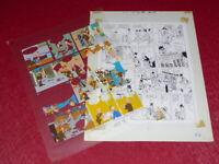 [ Bd ] Marciales/Tony Laflamme Volapük Lámina Colores Celuloide Original 1974 (3