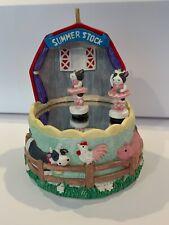The San Francisco Music Box Company 1992 Summer Stock Dancing Cows