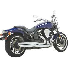 Vance & Hines Big Shots Staggered Exhaust Sys YAM Road Star Warrior 1900 02-09