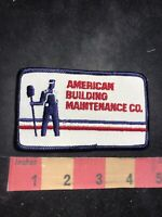 Vintage AMERICAN BUILDING MAINTENANCE CO. Advertising Patch 86N5