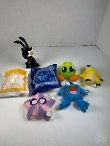 "NEOPETS Plush 4"" McDonalds Lot of 7 Plush Figures Stuffed 2 are SEALED"