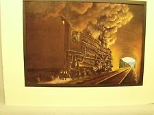 Chesapeake Ohio in Tunnel  by artist Railroad Archives TI