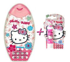 Hello Kitty Care Set Shower Gel & Shampoo + Lip Balm Stick Balsam for Girl