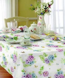 Lenox Butterfly Meadow Hydrangea Tablecloth