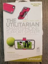 PUREGEAR THE UTILITARIAN SMARTPHONE SUPPORT SYSTEM for iPHONE 5/5S/SE PINK