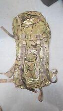 NEW GENUINE BRITISH ARMY SHORTBACK MTP IRR BERGEN RUCKSACK - WITH FRAME
