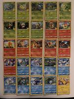 Pokemon Mcdonalds 25th Anniversary Complete Full Set Non-Holo Pikachu Nm-Mint