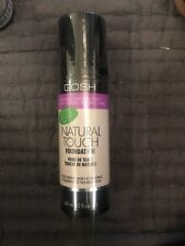 New Sealed GOSH Natural Touch Foundation 38 sand Discontinued