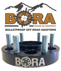 "BORA wheel spacers Chevy/GMC 1500 2.0"", 6x5.5 bolt pattern, PAIR (2) USA MADE"