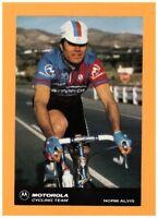 SPORT VELO / Coureur Cycliste NORM ALVIS EQUIPE Américaine MOTOROLA en 1991