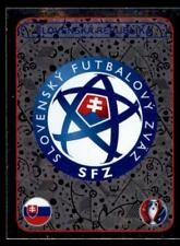 Panini Euro 2016 Badge Slovenska Republika Foil No. 128