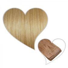 10 Tape-On-Extensions blond foncé #16 35 cm Remy Echthaar Haarverlängerung