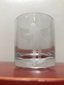 1989 Ryder Cup Vintage Heavy Old-Fashioned Drinking GlassTumbler Liquor RARE