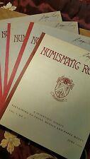 Numismatic Review V0l. 1 Number 1. Complete 1943