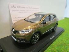 RENAULT  KADJAR 2015 marron au 1/43 NOREV 517780 voiture miniature de collection