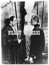 LUCILLE LUND Rare PHOTO Bela Lugosi BORIS KARLOFF Black Cat UNIVERSAL HORROR Gun