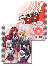 NEW Official License GE High School DXD Girls Spiral Notebook GE43180 US Seller