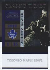 2010-11 Playoff Contenders Hockey #113 Johnny Bower Toronto Maple Leafs