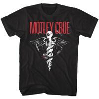 Motley Crue Dr Feel Good Men's T Shirt Metal Rock Band Album Cover Concert Merch