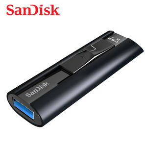 SanDisk Extreme PRO 256GB USB 3.1 Solid State Lecteurs Flash Cle CZ880 Tracking#