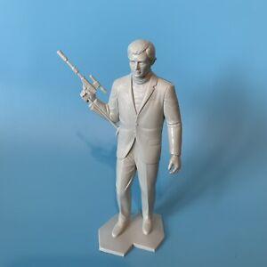 Vintage Illya Kuryakin Man From UNCLE Vintage Plastic Figure 1966 MGM Gray