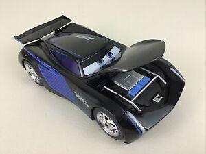 Disney Cars Jackson Storm 1:24 Race car Vehicle Die Cast Metal Jada Toys Large