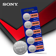 5pcs/lot SONY cr2032 Button Cell Batteries 3V Coin Battery