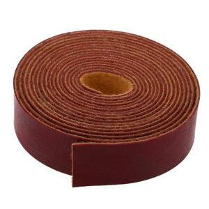 10 Meters Leather Strap Strips for Leather Craft Bag Handle 2cm Width