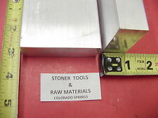 "2 Pieces 1"" X 3"" ALUMINUM 6061 FLAT BAR 3"" long T6511 1.00"" Plate NEW Mill Stock"