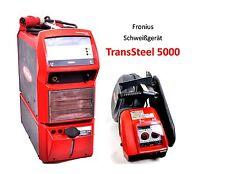 Fronius Schweißgerät TransSteel 5000 MIG/MAG + Schlauchpaket