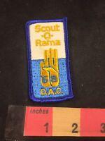 Vtg 1968 SCOUT-O-RAMA DETROIT AREA COUNCIL BSA Boy Scouts Patch C80X