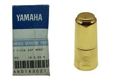 Yamaha YSS 62 Soprano Saxophone Metal Mouthpiece Cap - Lacquered