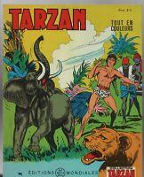 Collection TARZAN n°29. .Editions  Mondiales 1967 -Tout en couleurs