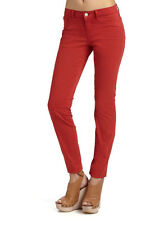 J Brand Womens 811 Skinny Leg Jeans Size 25 Mid-Rise Pants Blood Orange