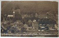Emporium Pa BIRDS EYE VIEW, Looking North Photo by Weiman Postcard ca 1908