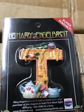 Mary Engelbreit Alphabet Magnet Letter T Country Clutter 2001 Enesco