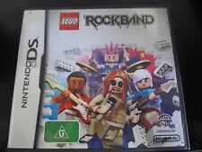 NINTENDO DS.....LEGO ROCKBAND.... boxed x with instructions...G rated