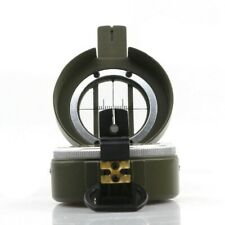 New listing Army Green Compass Lensatic Camping Hiking Luminous Orienteering Useful
