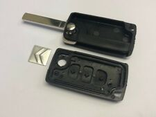 Case Only for Citroen VA2 Flip Remote Key Fob Case without Battery Connector